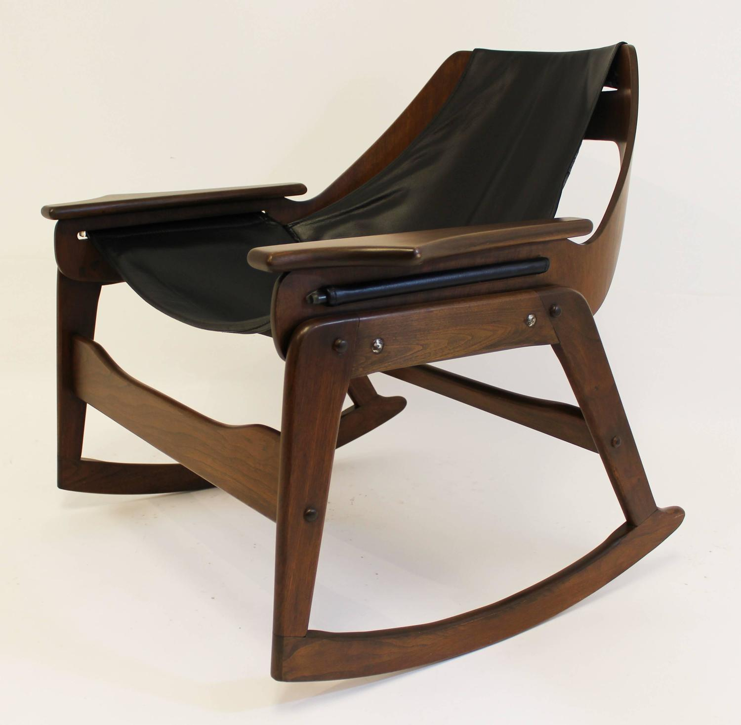 Century bentwood rocking chair by jerry johnson for sale at 1stdibs
