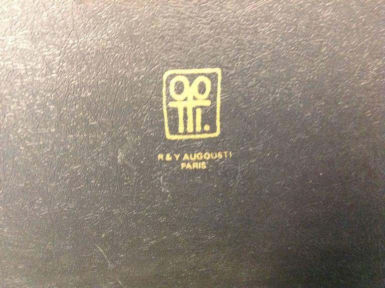 R & Y Augousti Paris Shagreen Box In Excellent Condition For Sale In Keego Harbor, MI