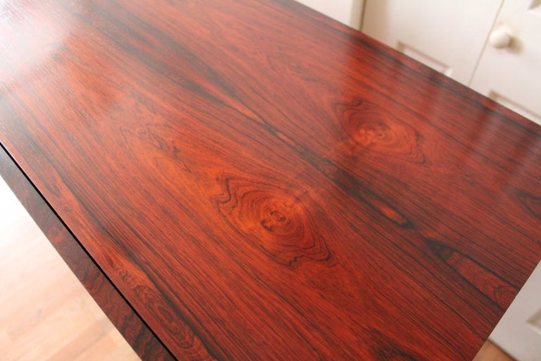 Arne Vodder Brazilian Rosewood Sideboard Credenza For Sale 1