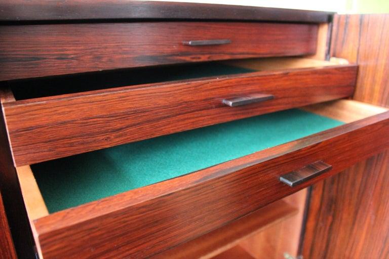 Arne Vodder Brazilian Rosewood Sideboard Credenza For Sale 4