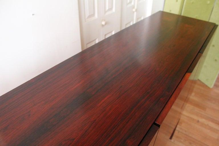 Arne Vodder Brazilian Rosewood Sideboard Credenza For Sale 6