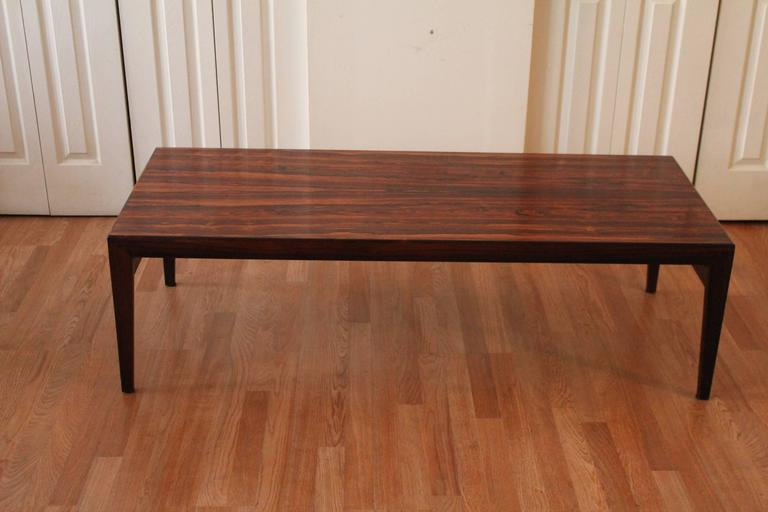 Danish Rosewood Coffee Or Cocktail Table By Ludwig Pontoppidan 3