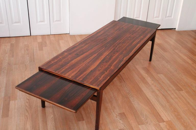 Danish Rosewood Coffee Or Cocktail Table By Ludwig Pontoppidan 2