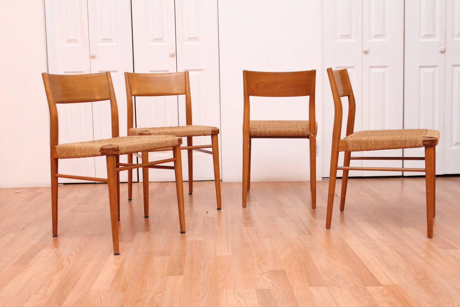 birch dining chairs four birch dining chairs georg leowald for wilkhahn for 1660