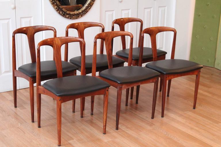 Beau Scandinavian Modern Johannes Andersen U0027Julianeu0027 Rosewood Mid Century Modern  Dining Chairs ...