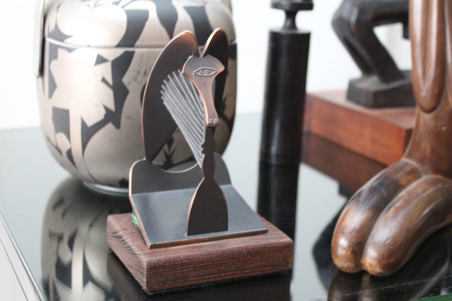 Chicago Picasso Cubist Sculpture At 1stdibs
