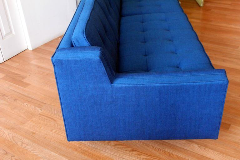 Lawrence Peabody For Richardson Nemschoff Scandinavian Blue Sofa. Look At  The Quality And Style Of