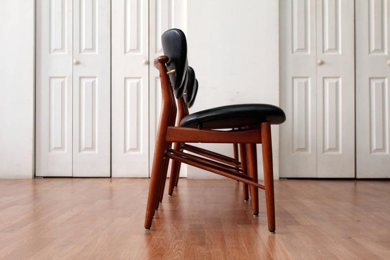 Finn Juhl 108 Dining Chairs 3Finn Juhl 108 Dining Chairs For Sale at 1stdibs. Finn Juhl Chair 108. Home Design Ideas