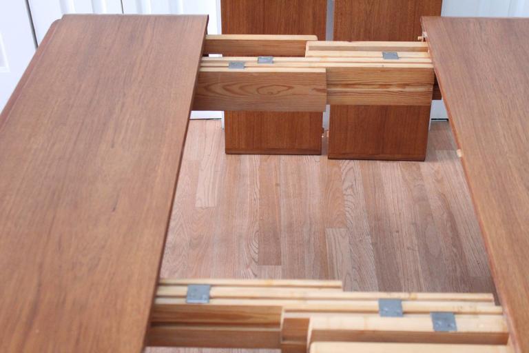 Svend Madsen Teak Drop-Leaf Dining Table For Sale 4