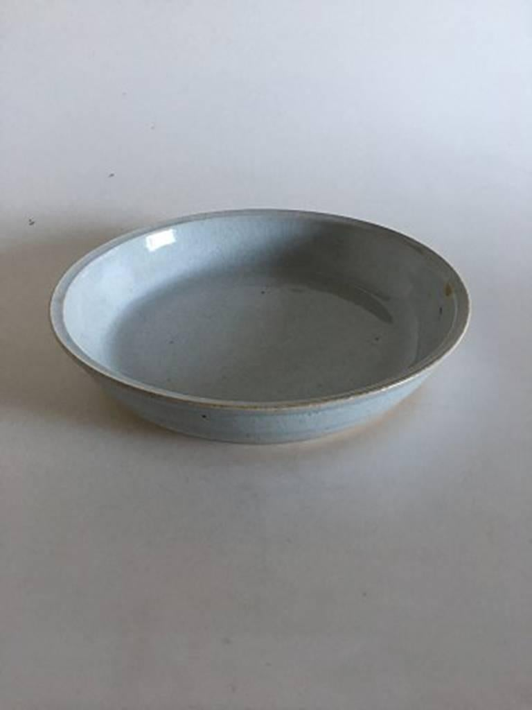 Bing & Grondahl stoneware unique tray by George Hatting #335. Measures 27.3cm x 5.5cm and is in perfect condition.