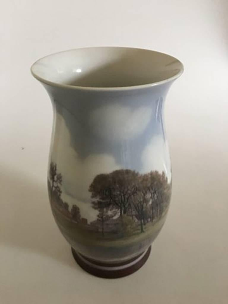 Bing And Grondahl Sophus Jensen Unique Vase No 440 With