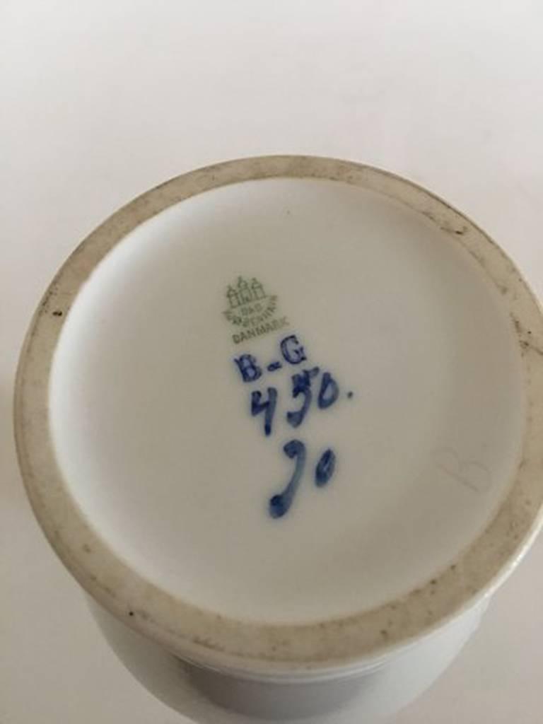 Art Nouveau Bing & Grondahl Unique Vase by Jo Ann Locher #450 For Sale