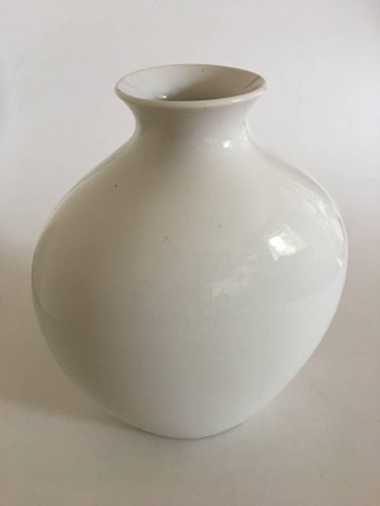 Art Nouveau Bing & Grondahl Unique Vase by Sophus Jensen For Sale