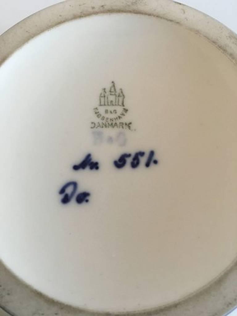Danish Bing & Grondahl Unique Vase by Jo Hahn Locher #551 For Sale