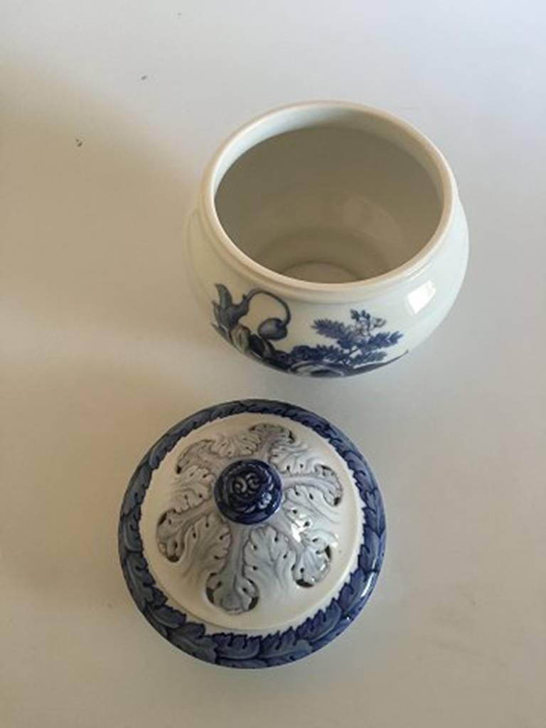 Art Nouveau Bing & Grondahl Unique Vase by Jo Hahn Locher #551 For Sale