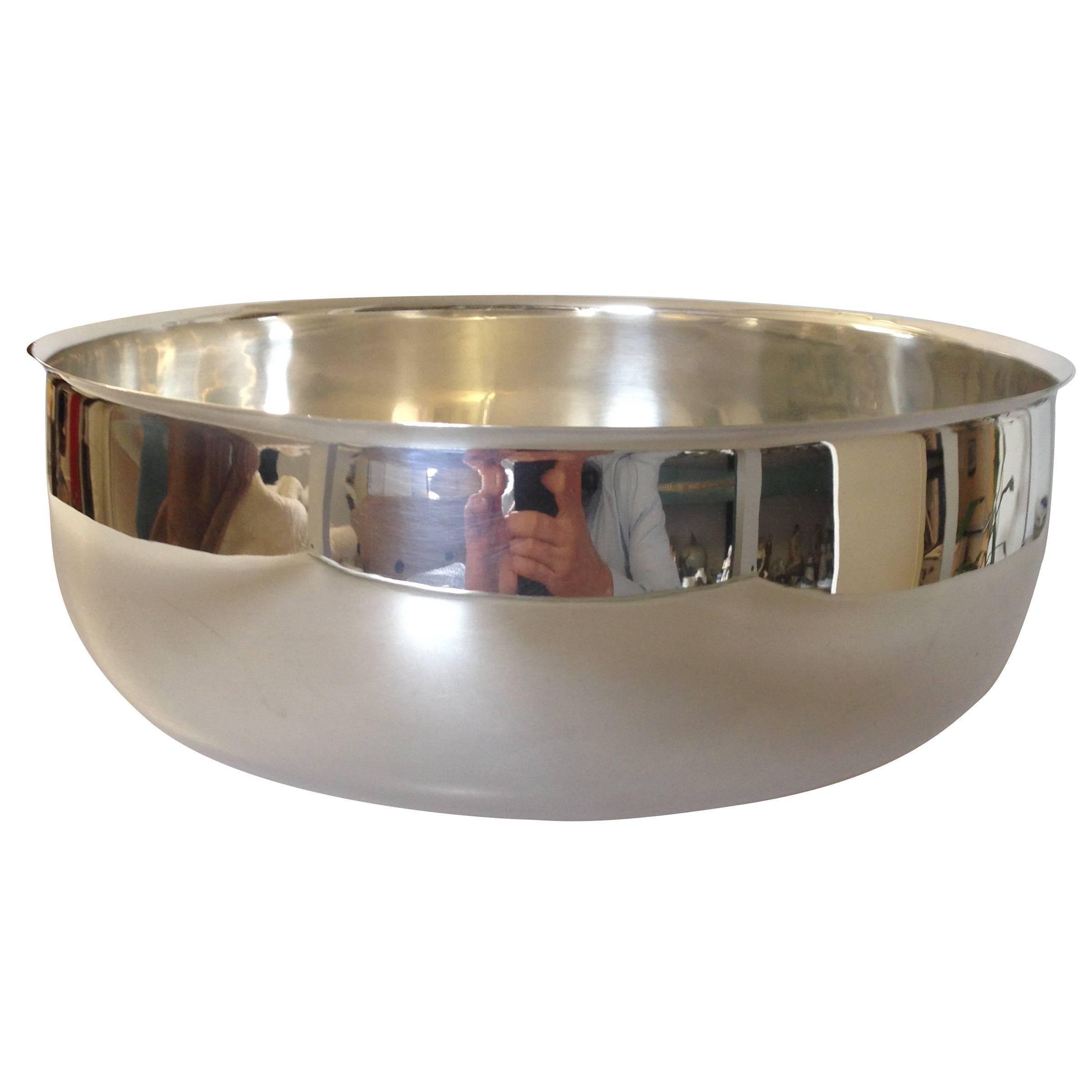 Unique Georg Jensen Sterling Silver Alev Siesbye Giant Bowl