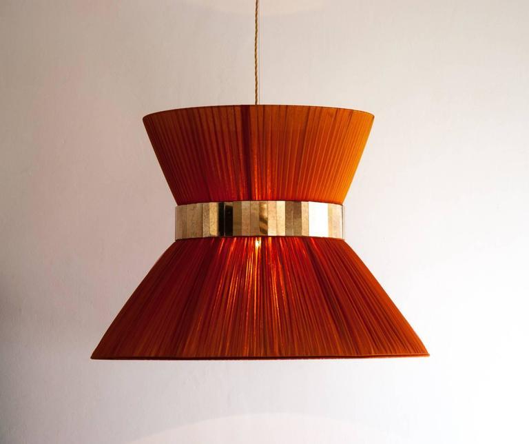 Tiffany Hanging Chandelier Pendant Lighting Silk Shade