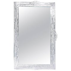 Baroque Clear Plastic Mirror with Baroque Frame with Actual Mirror