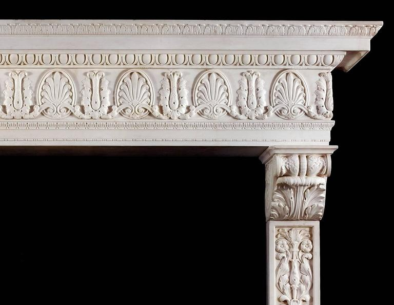 A grand statuary marble antique Italian Renaissance style ...