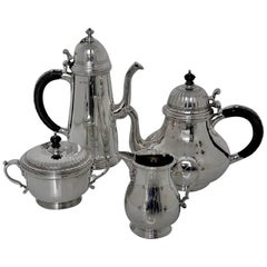 Sterling Silver Tea and Coffee Set, London, 1968 by Richard Comyns