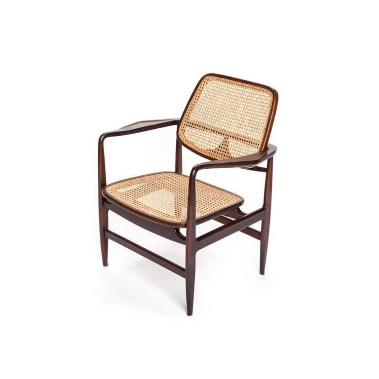 Brazilian Mid Century Modern Rosewood U201cOscaru201d Chairs By Sergio Rodrigues 3