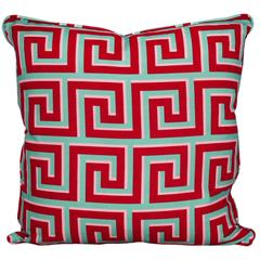 Greek Key Pillow