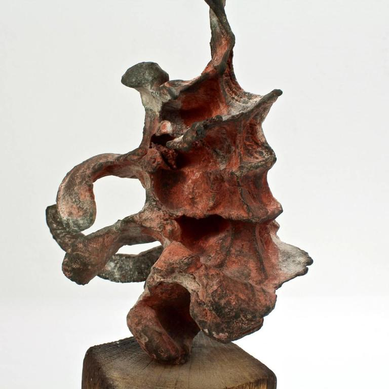 Squeeze Bronze Sculpture by Steve Tobin, 1990s For Sale 4
