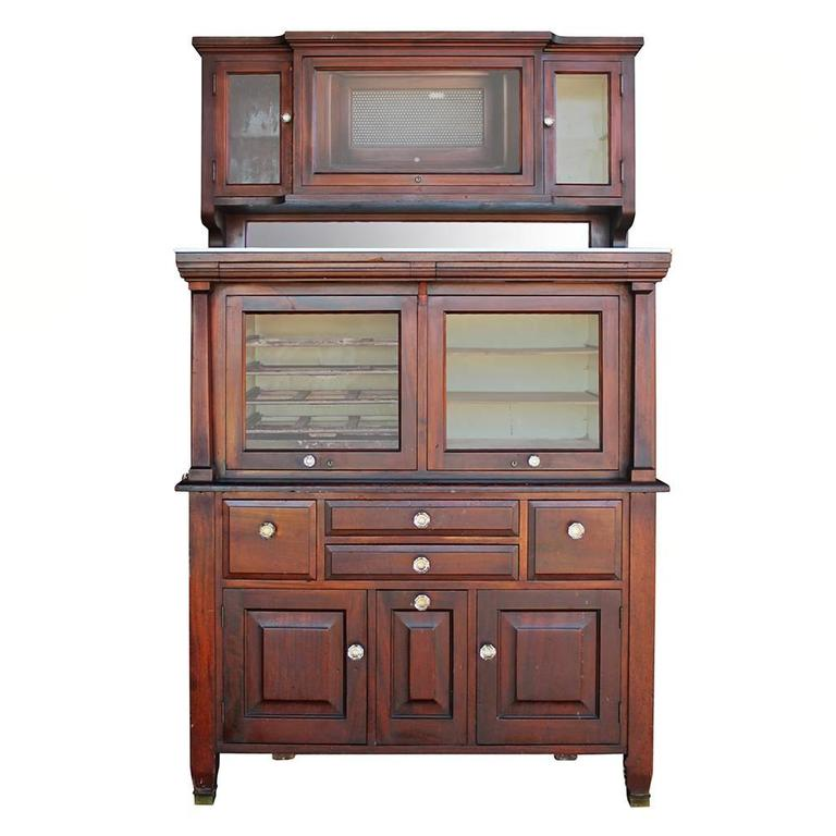 American Cabinet Co. Early 20th Century Mahogany Dental Cabinet at ...