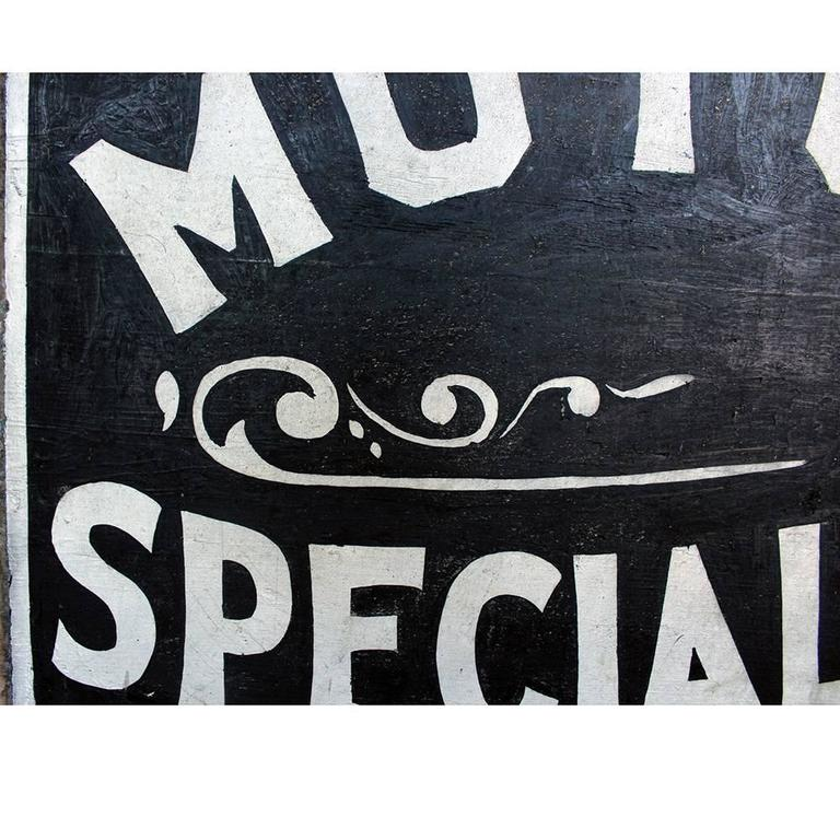 Motor Specialtys Sign For Sale 1