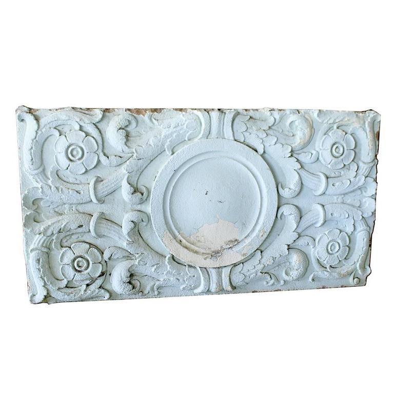 Neoclassical Early 20th Century Cast Stone Architectural Panels For Sale