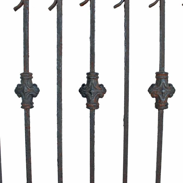 19th Century Late Victorian Iron Garden Gate For Sale