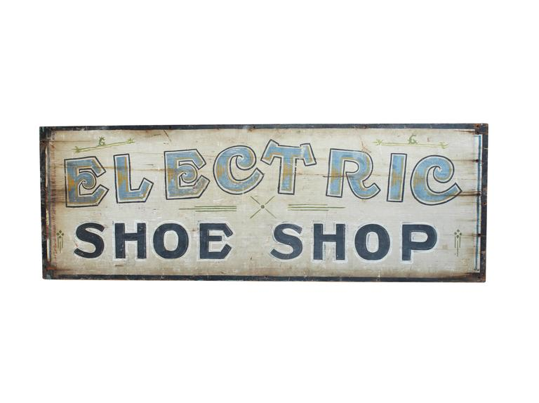 Electric Shoe Shop Sign For Sale