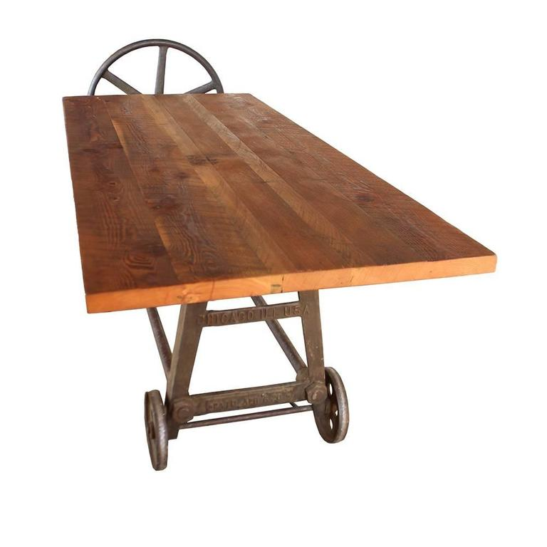 Industrial Clamping Wheel Table 5