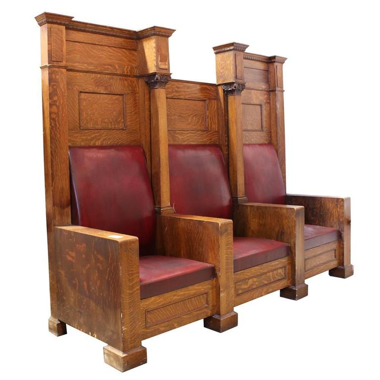 Fraternal Lodge Bench Thrones 3