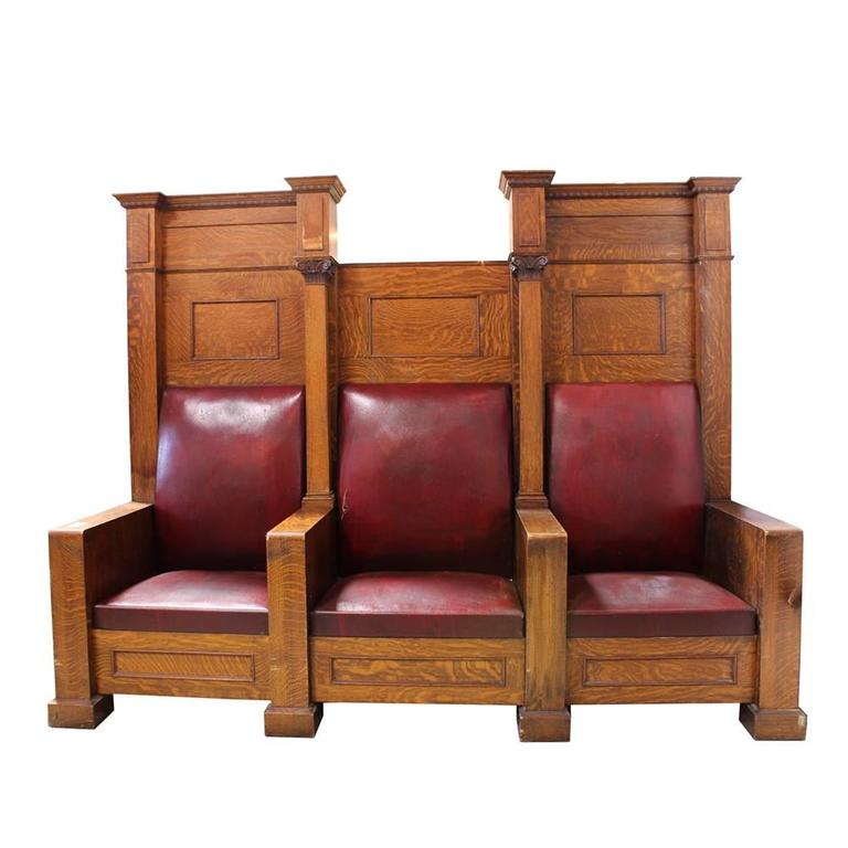 Fraternal Lodge Bench Thrones 2