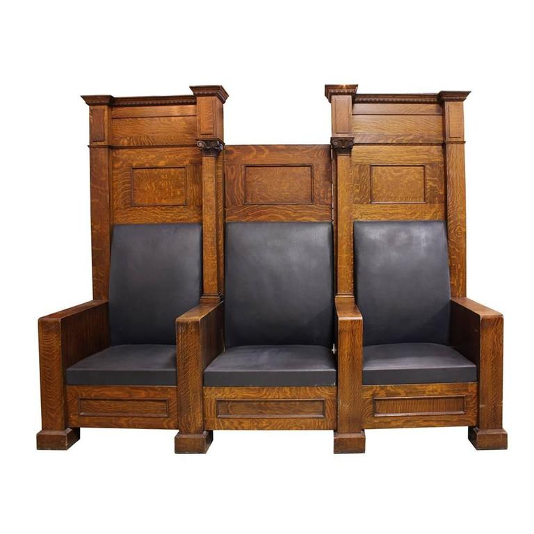 Fraternal Lodge Bench Thrones 4