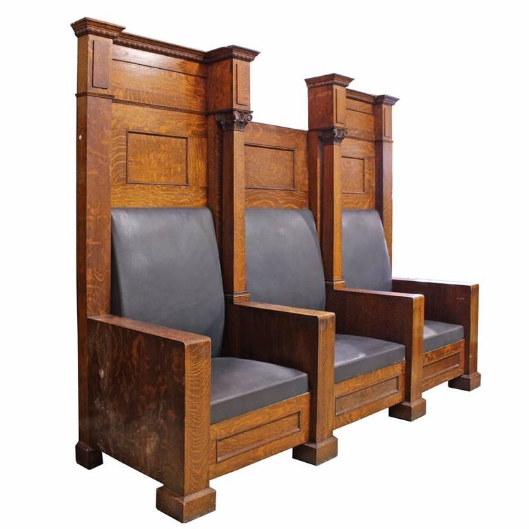 Fraternal Lodge Bench Thrones 5