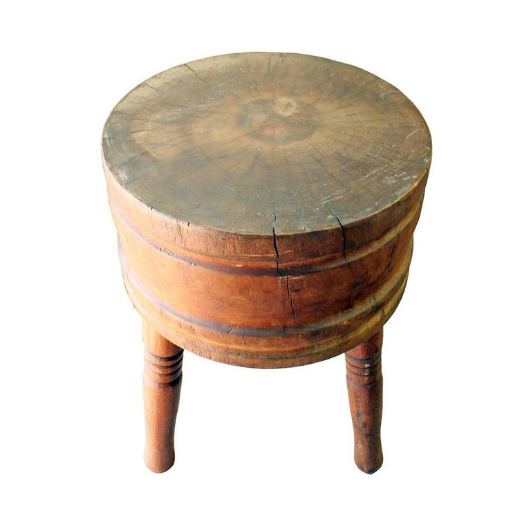 Primitive Round Butcher Block 5