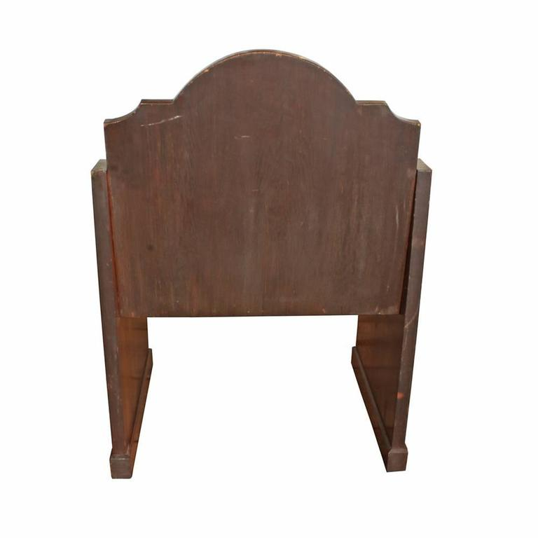 Oak Church Altar Chairs (S/2) 4