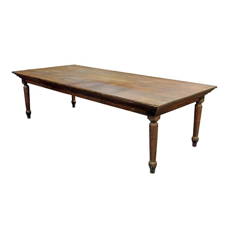 Primitive Oak Farm Table 1