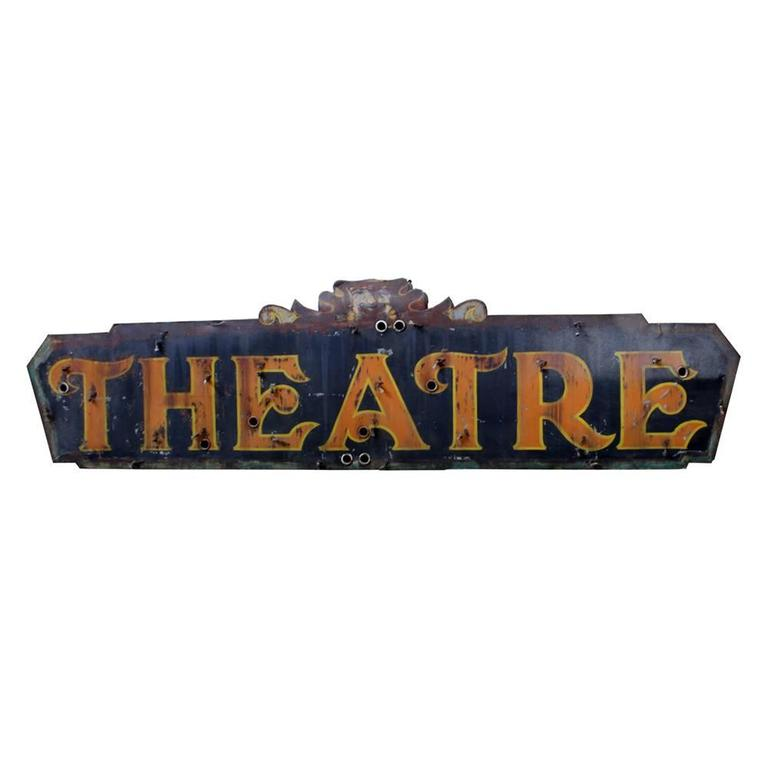 McBreen Building Theater Sign 1