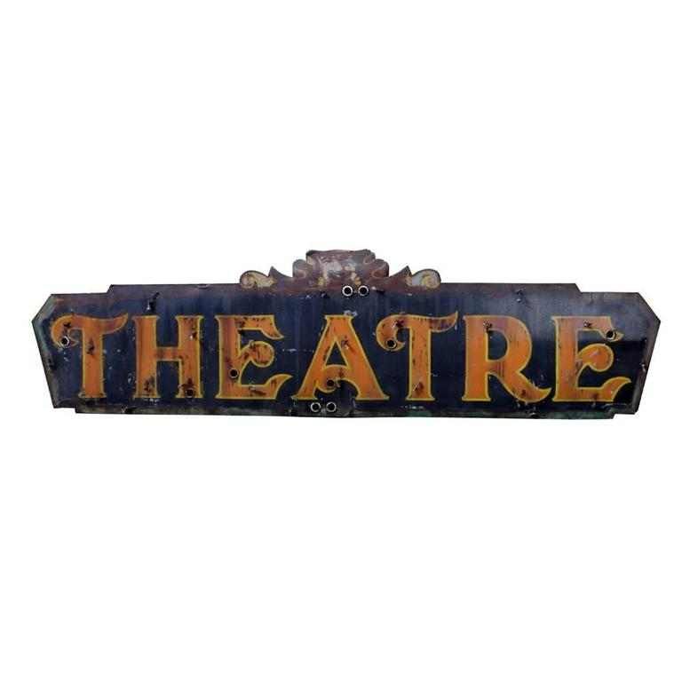 McBreen Building Theater Sign 4