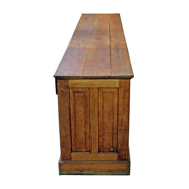 Oak Work Counter For Sale 1