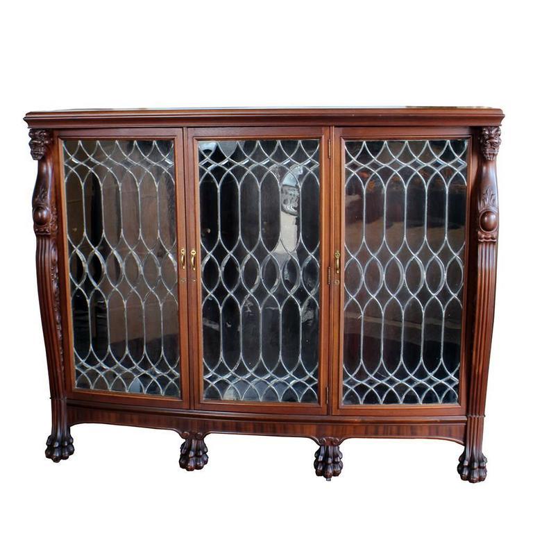 Late 19th Century Walnut Bookcase