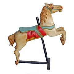 Restored Spillman Carousel Horse