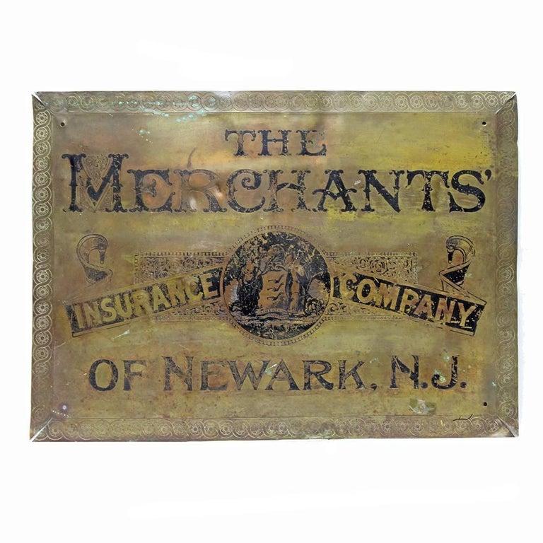 Merchants' Insurance Sign