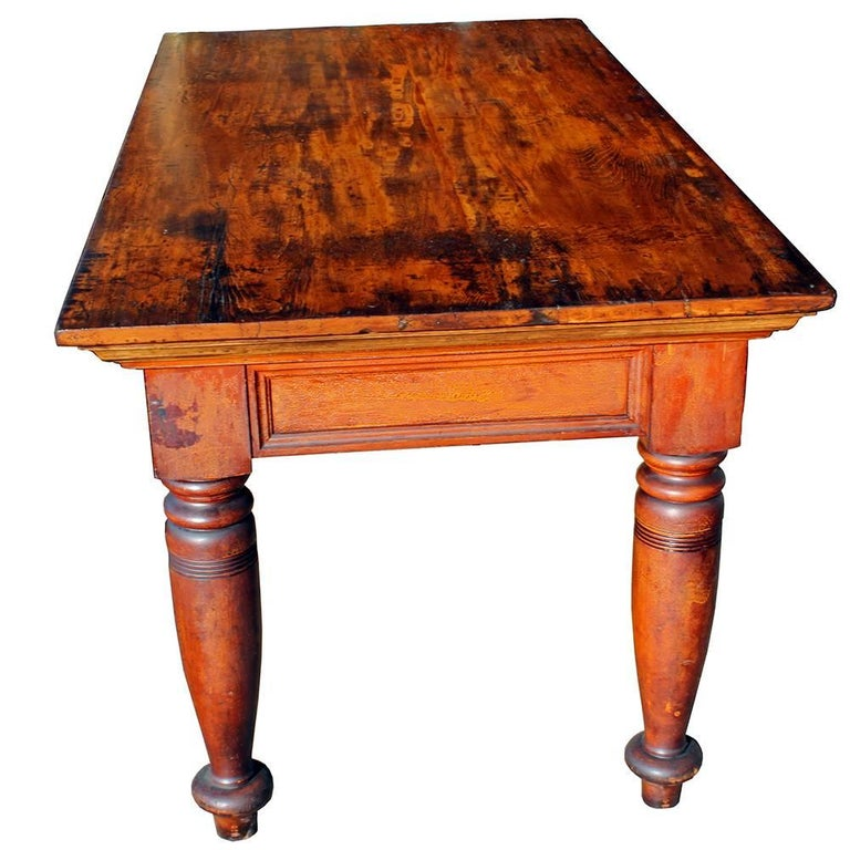 Antique Post Office Table For