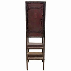 Late 19th Century Industrial Cabinet