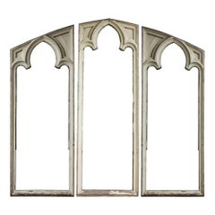 Gothic Window Frame Triptych