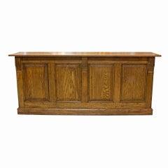 Oak Store Counter